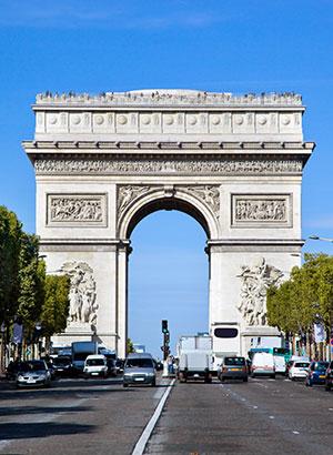 Bezienswaardigheden Parijs: Arc de Triomphe