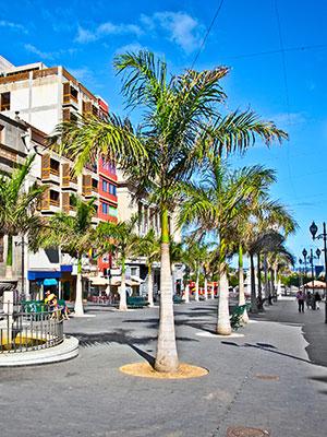 Doen op Tenerife, Santa Cruz