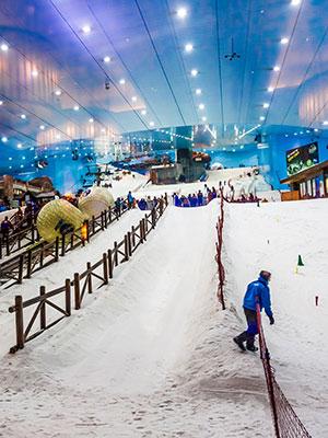 Dubai voor kinderen: Ski Dubai