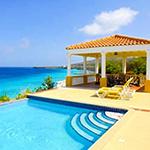 Mooiste stranden Curacao: Oasis Parcs Coral Estate