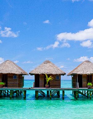 Luxe hotels Malediven