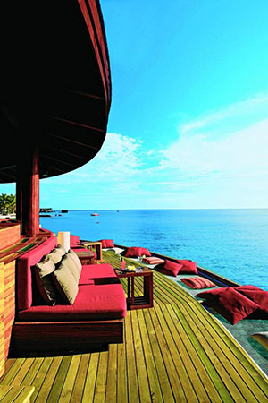 Luxe hotels Malediven: Centara Ras Fushi Resort & Spa Maldives