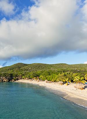 Mooiste stranden Curacao: grote Knip