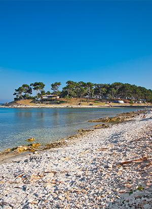 Mooiste stranden Kroatië: Istrië