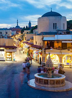 Nazomeren in Griekenland; Rhodos
