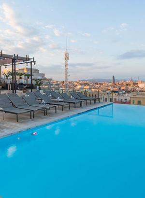 Stadshotels met geweldig uitzicht: Grand Hotel Central Barcelona