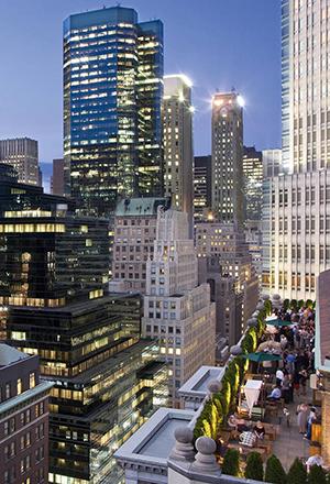Stadshotels met geweldig uitzicht: The Roosevelt New York