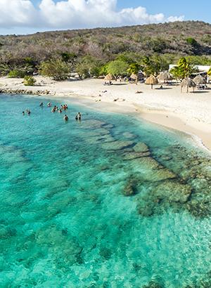 Mooiste stranden Curacao: Daiboo Beach
