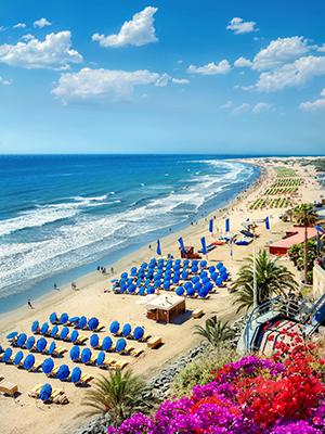 Badplaatsen Gran Canaria: Playa del Ingles