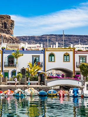 Badplaatsen Gran Canaria: Puerto de Mogan