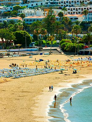 badplaatsen Gran Canaria: Puerto Rico