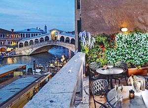 Bijzonder overnachten in Venetië: Hotel Rialto