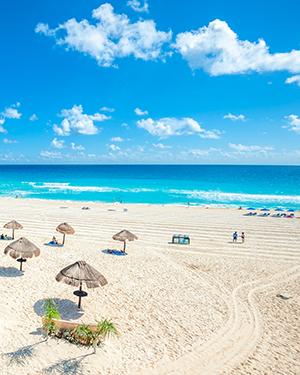 Cancún strand