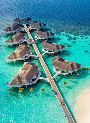 Luxe hotels Malediven: Centara Grand Island Resort & Spa Maldives