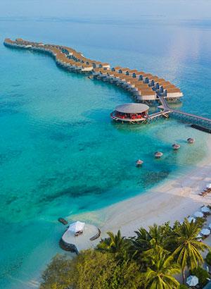 Luxe hotels Malediven: Centara Ras Fushi Resort & Spa Maldives
