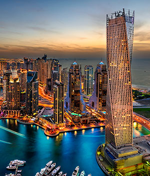 Winterzon bestemmingen Dubai