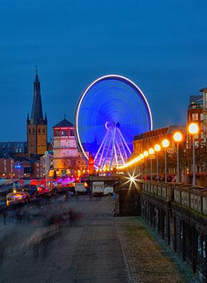 Kerst in Europa: Düsseldorf
