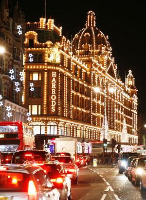 Kerst in Europa: Londen