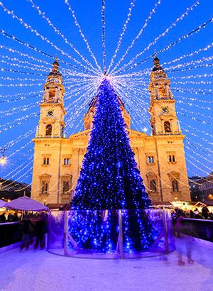 Kerstshoppen in Europa: Boedapest