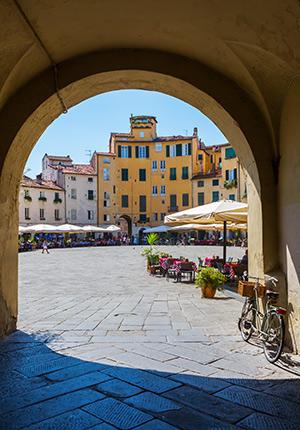 De Toscaanse pleinen van Lucca