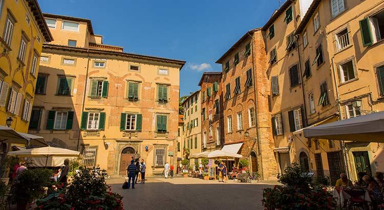Lucca, Toscaanse sfeer