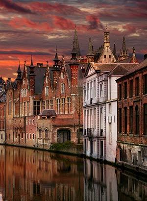 Romantische steden; Brugge