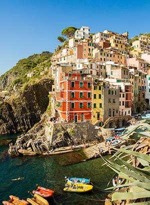 Romantische steden: Cinque Terre