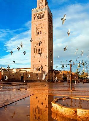 Romantische steden: Marrakech