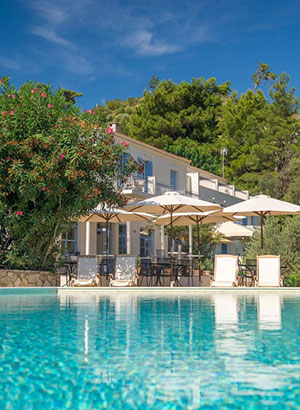 Toffe hotels: Samos