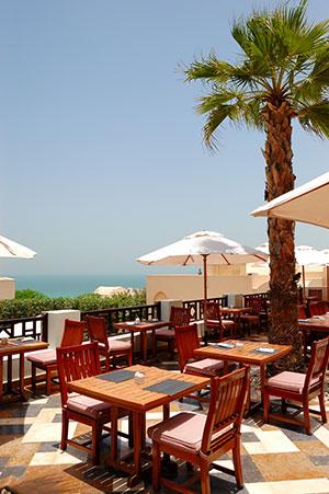Vakantie Ras al-Khaimah: terras
