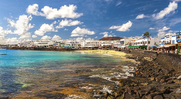 Badplaatsen Lanzarote