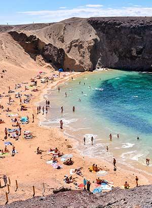 Badplaatsen Lanzarote: Playa Blanca