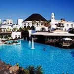 Zon in februari: Lanzarote, Hotel THe Volcan Lanzarote