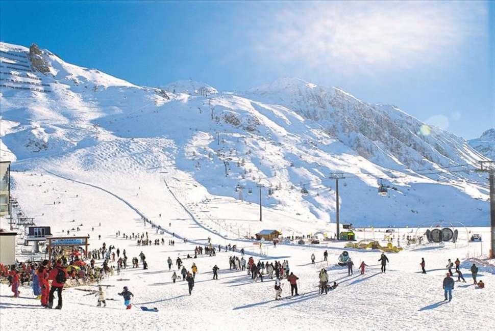 Witte kerst: Frankrijk, Appartementen Tignes Le Lac