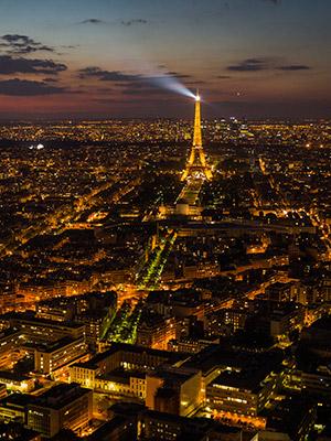 Kerst in Parijs: Eiffeltoren