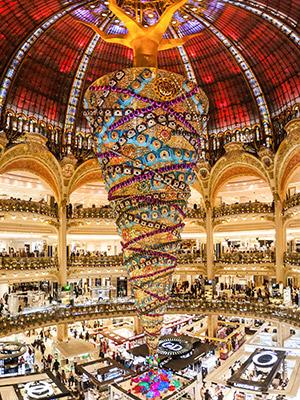 Kerst in Parijs: Lafayette
