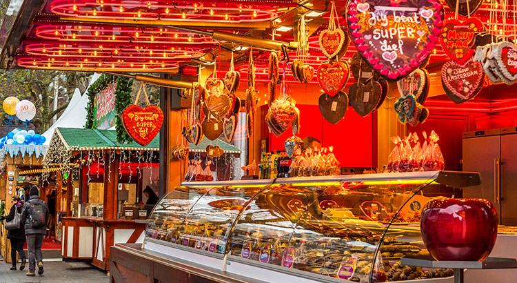 Kerstshoppen in Nederland
