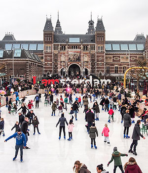 Kerstshoppen in Nederland: Amsterdam