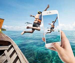 Reisfotografie smartphone