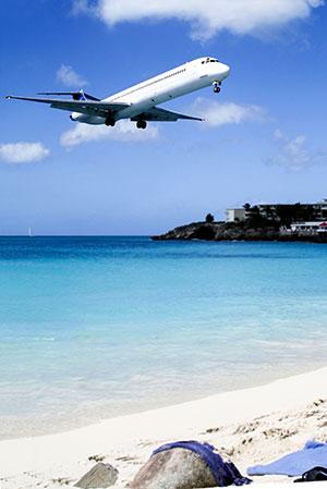 Tropisch vakantiegevoel Maho Beach Sint Maarten