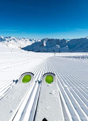 Vroeg wintersporten: Sölden