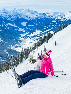 Witte kerst, wintersport