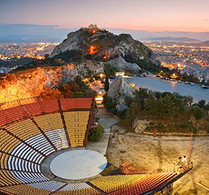 Doen in Athene, Lycabettus berg