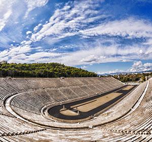 Ddoen in Athene, Panathenaic Stadion