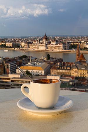 Boedapest in de winter: koffiehuizen