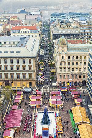 Boedapest in de winter: kerstmarkten
