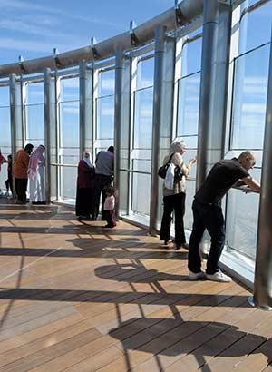 Platform op Burj Khalifa, Dubai