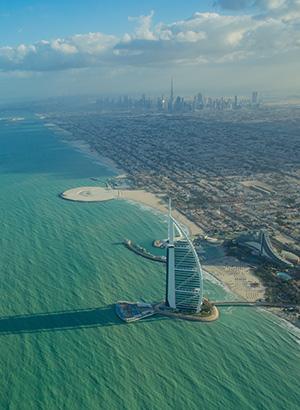 Doen in Dubai; watervliegtuig