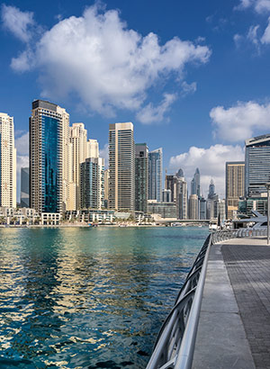 Dubai in een vogelvlucht