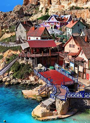 Familie-eilanden Europa: Malta